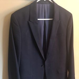 "Nordstrom brand ""Topman"" classic blue sport coat"